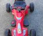 Battery powered go kart
