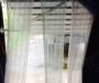 Chiller door temperature control blind