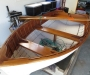 Kauri clinker dinghy