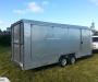 Enclosed race car trailer