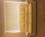 Genuine leather 3seater couch