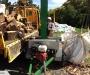Professional hydraulic wood