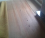 Recycled rimu floorboards