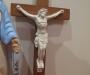 Retro religious crucifix