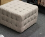 T and C square ottoman