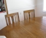 Kauri table and chairs